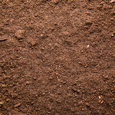Close up image of select fill dirt, a generally brown dirt  by Aggregates Now