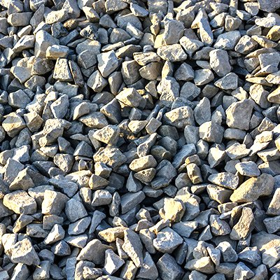 Close Up Image of Limestone Construction Aggregate